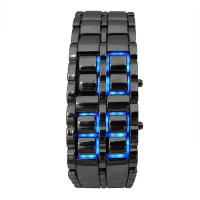 Iron Samurai Blue LED  Black